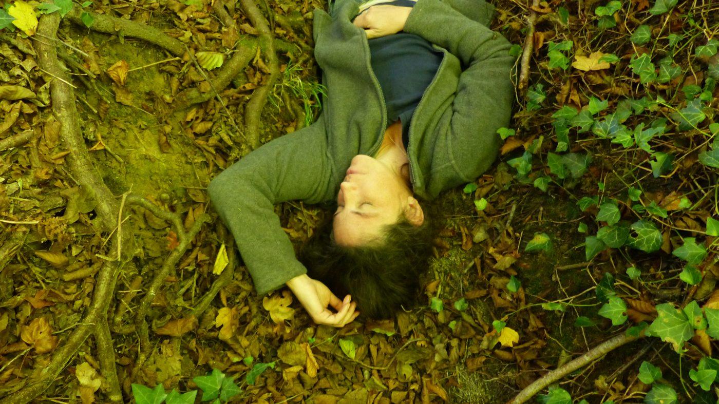 Maryjane Claydon in the woods