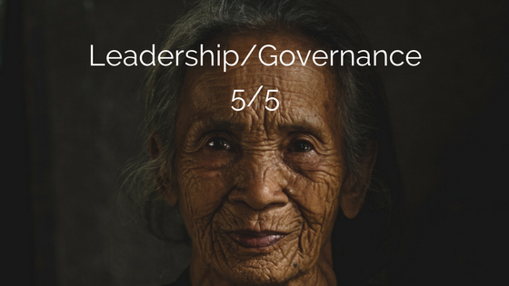 Ep 037 Leadership/Governance