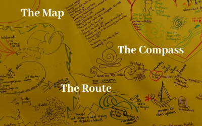 The Map, The Compass and The Route.